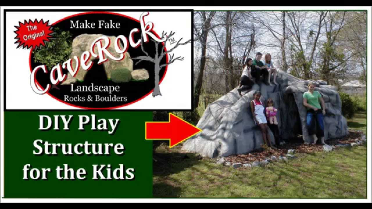 Diy plans for outdoor play structure for the kids youtube for Diy play structure