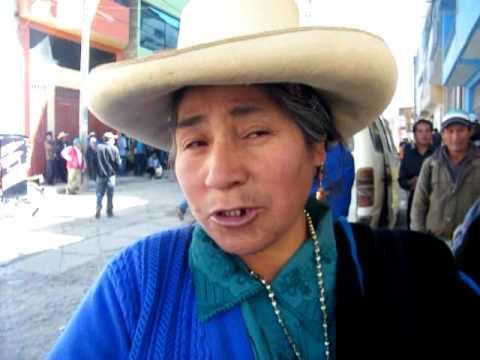 ¿Si mañana fueran las elecciones, por quien votaria a la region Cajamarca?