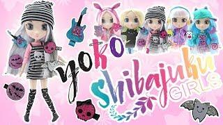 Обзор и распаковка куклы Йоко Шибадзюку/ Yoko Shibajuku Girls/ Review