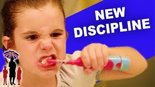 Kids Don't Take Well to New Discipline in House | Supernanny