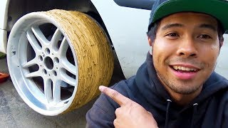 Rubber Band Tires