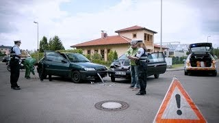 Nochmaaal Polizei Verkehrsunfall