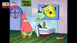 Epic Rap Battles GERMAN - Spongebob Schwammkopf vs Patrick