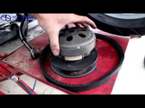 Sửa xe tay ga - Cách kiểm tra dây curoa và vệ sinh nồi | Phụ Tùng Chính Hiệu