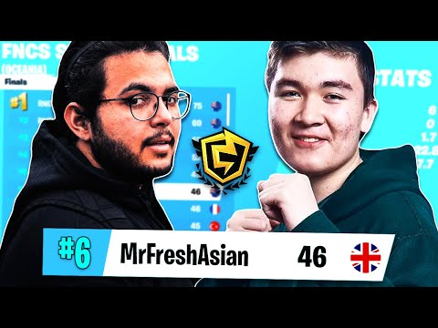 How I Coached MrFreshAsian in FNCS Grand Finals (6th Place)