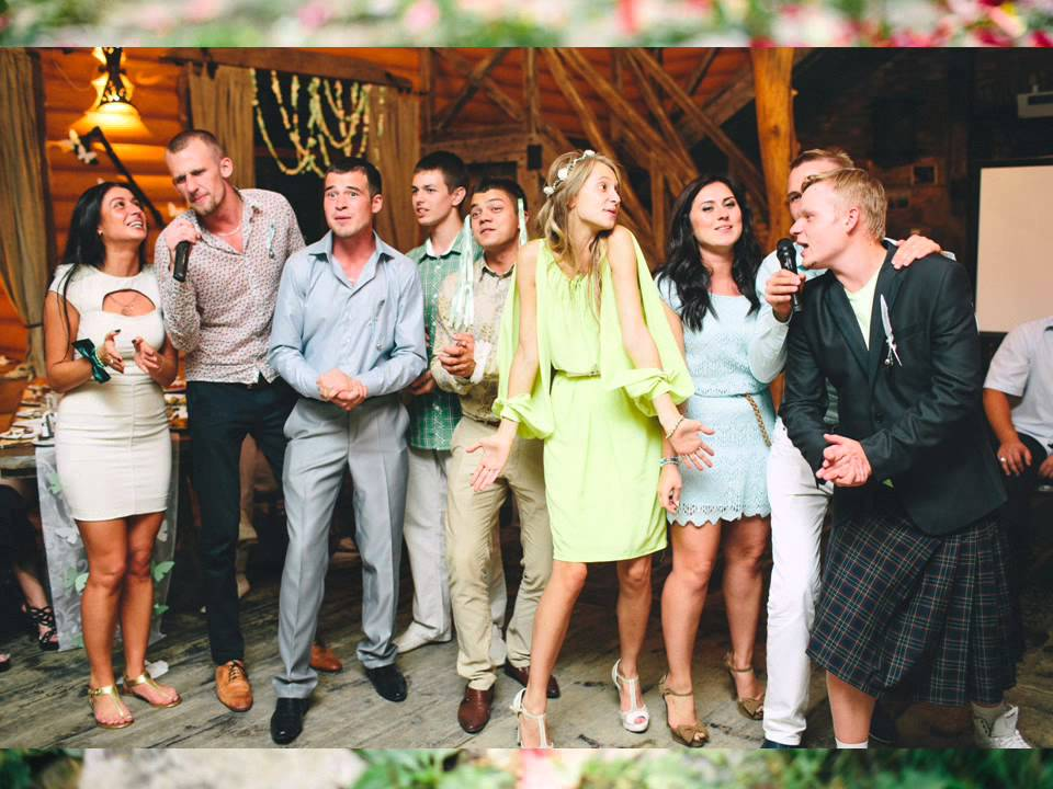 Песню про свадьбу веселую