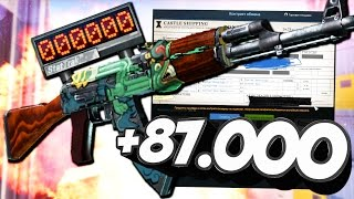 СКРАФТИЛ ОГНЕННЫЙ ЗМЕЙ STATTRAK ЗА 87.000 РУБЛЕЙ В CS:GO! (НЕРЕАЛЬНО ПОВЕЗЛО В КС ГО)