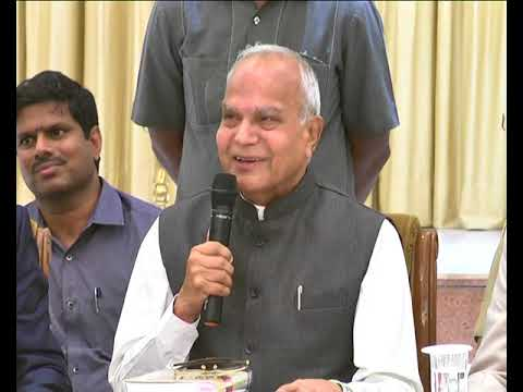 TN Governor Press Meet on sex racket in Chennai 2
