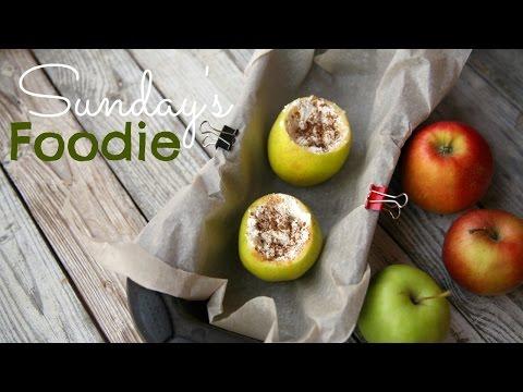 Sundays FOODIE: Запеченные яблоки с творогом и корицей ПП!