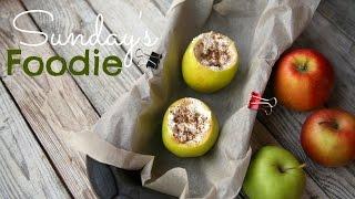 Sunday's FOODIE: Запеченные яблоки с творогом и корицей ПП!