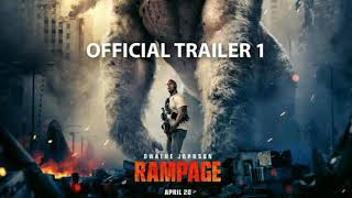 Rampage (2018) Offical Trailer #1(In Hindi)  Dwayne Johnson (Rock)Latest Hollywood Movie Trailers  