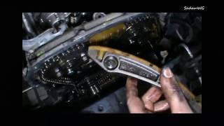 Demontaż łańcucha rozrządu #3 Ford mondeo mk3 2.0 TDDI samodzielna naprawa (cz.6)