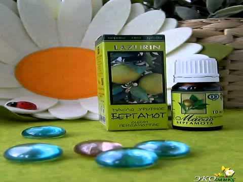 Эфирное масло бергамота: свойства, применение в косметологии