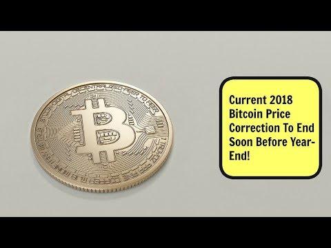 2018 Bitcoin Price Correction To End Soon??