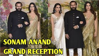 Kareena Kapoor Arrives With Saif Ali Khan At Sonam Kapoor's Reception | Sonam - Anand Reception LIVE