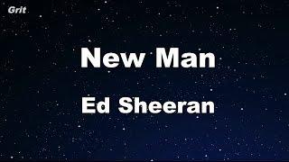 New Man Ed Sheeran Karaoke 【No Guide Melody】 Instrumental