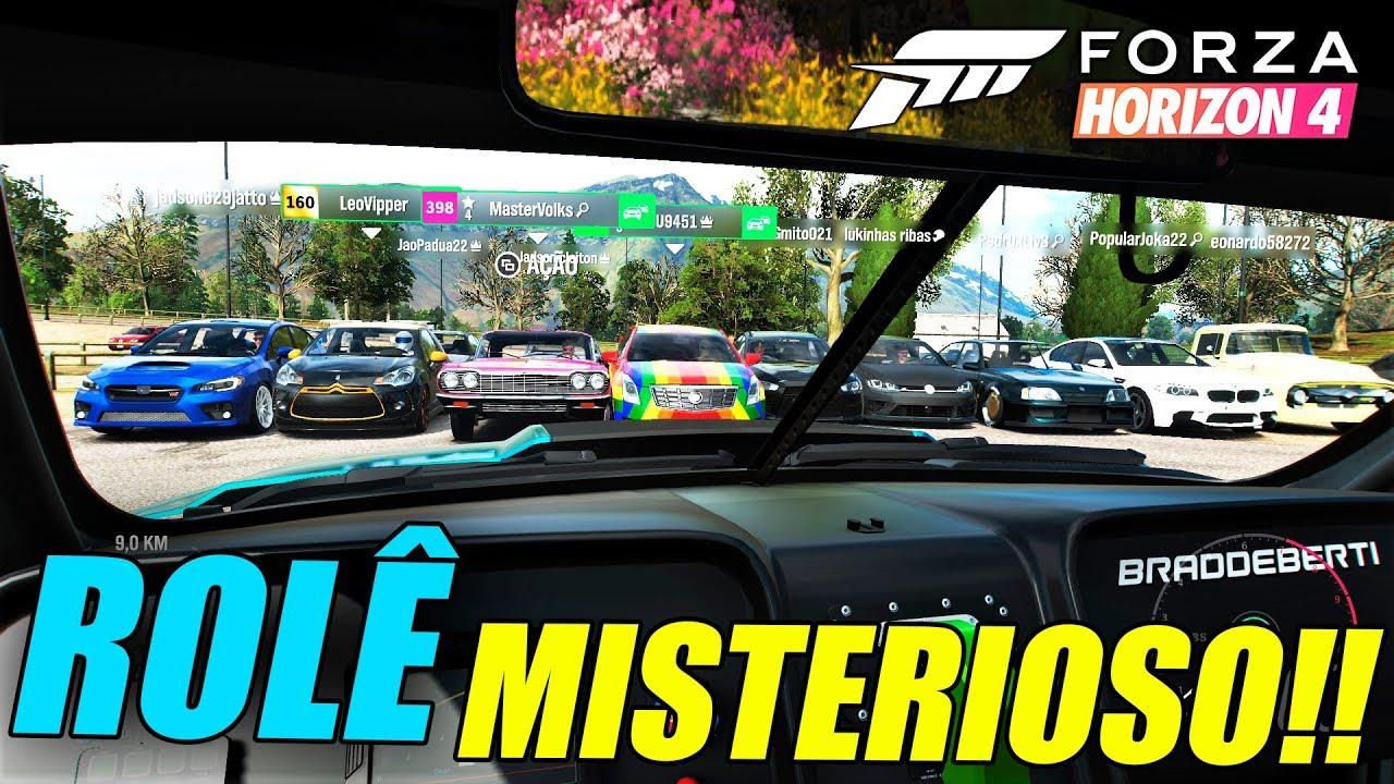 ROLÊ MISTERIOSO!! QUAL CARRO EU ESTOU - FORZA HORIZON 4