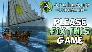 Archeage Unchained Has One BIG Problem...
