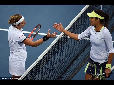 Bacsinszky VS Ivanovic Highlight 2015 Beijing SF