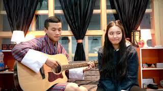 Kunsel by Kelden Lhamo (Cover, Guitar- Sonam wangchen)