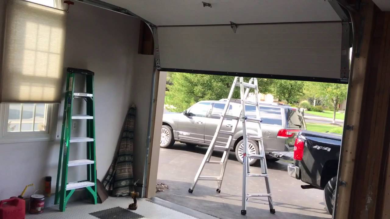 batoff s garage doors installs wayne dalton 8500s with liftmaster 8550ws [ 1280 x 720 Pixel ]