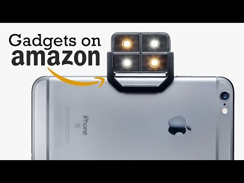 Five Tech Gadgets You Can Buy on Amazon