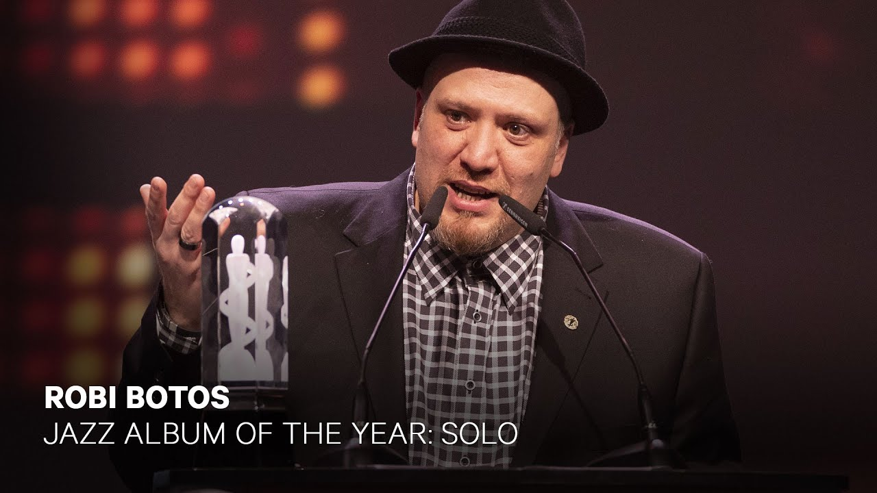 Robi Botos wins Jazz Album of the Year: Solo | Live at the 2019 JUNO Gala  Dinner & Awards