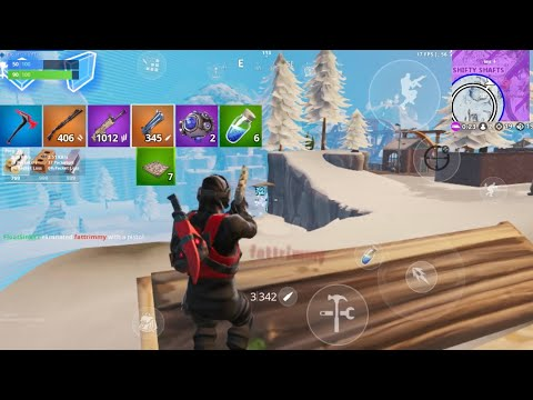 20 Kill Solo Squad On Season 10 / IPhone 8 Player - Fortnite Mobile (Gameplay)