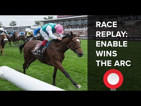 Enable wins the 2017 Qatar Prix de l'Arc de Triomphe