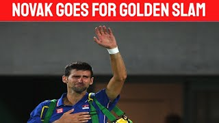 Novak Djokovic says he will compete at the Olympics: Golden Slam in play!!!