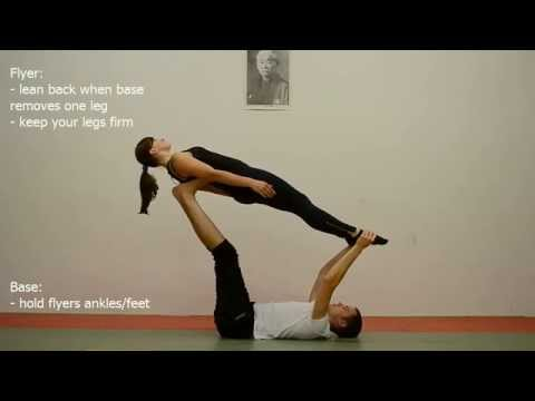 AcroYoga Beginner Tutorial 5: Throne to Whale
