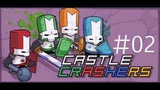 Manic and Shady Play Castle Crashers - Part 02 - NOT A FLYING TOY