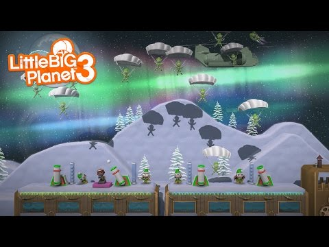 LittleBIGPlanet 3 - ELF DEFENSE [Level of the Day] - Playstation 4