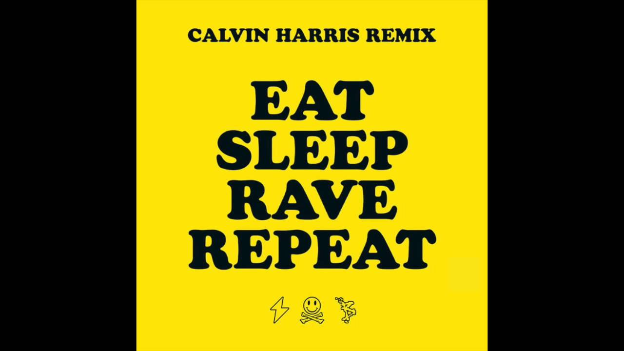 eat sleep rave repeat feat beardyman calvin harris. Black Bedroom Furniture Sets. Home Design Ideas