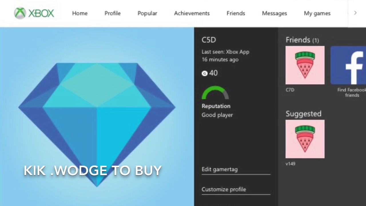 OG Xbox 3 letter Gamertag for sale