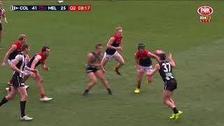 Round 23 AFL - Collingwood v Melbourne Highlights