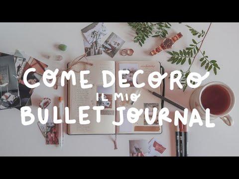 SEMPLICI MODI PER DECORARE IL BULLET JOURNAL + COME STAMPO LE FOTO   Budget Friendly