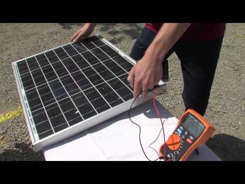 How a Solar Panel Works