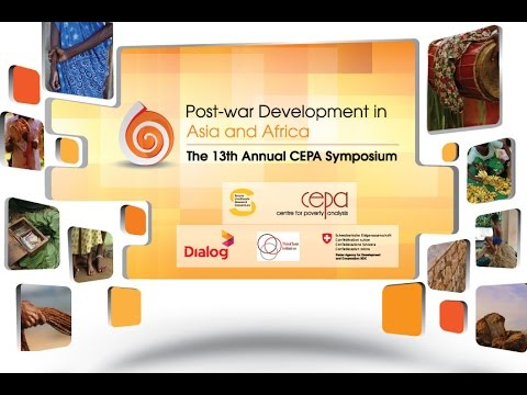 Post-War Development in Asia and Africa (INAUGURAL SESSION) 31.08.2014