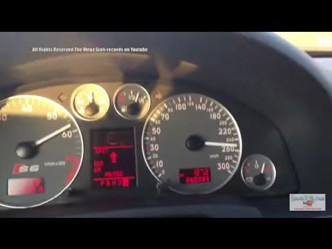 Audi S6 4B C5 test Autobahn - No speed limit Germany - Ein Ganz normaler Sonntagmorgen