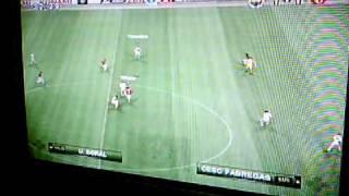Pes 2010 - Fenerbahce vs Arsenal - En ligne - 3-1       - J'ai Gagné    PArt 1