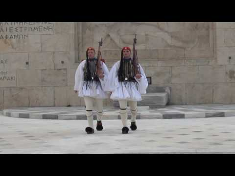 Athens Guard Changing Ceremony