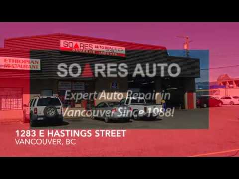 (604) 229-2537 - Auto Repair in Vancouver ~ Soares Auto Repair, Vancouver ~ Auto Maintenance