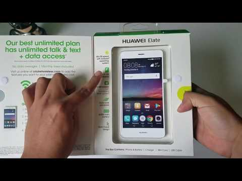Huawei Elate H1711z Cricket Unboxing Y Mini Review En Español