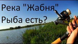 Рыбалка на реке Жабня #1 - Первый заброс