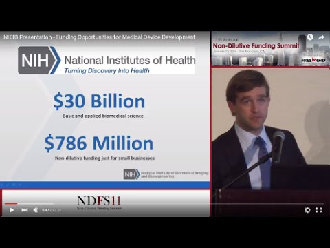 NIBIB Presentation - Funding Opportunities for Medical Device Development