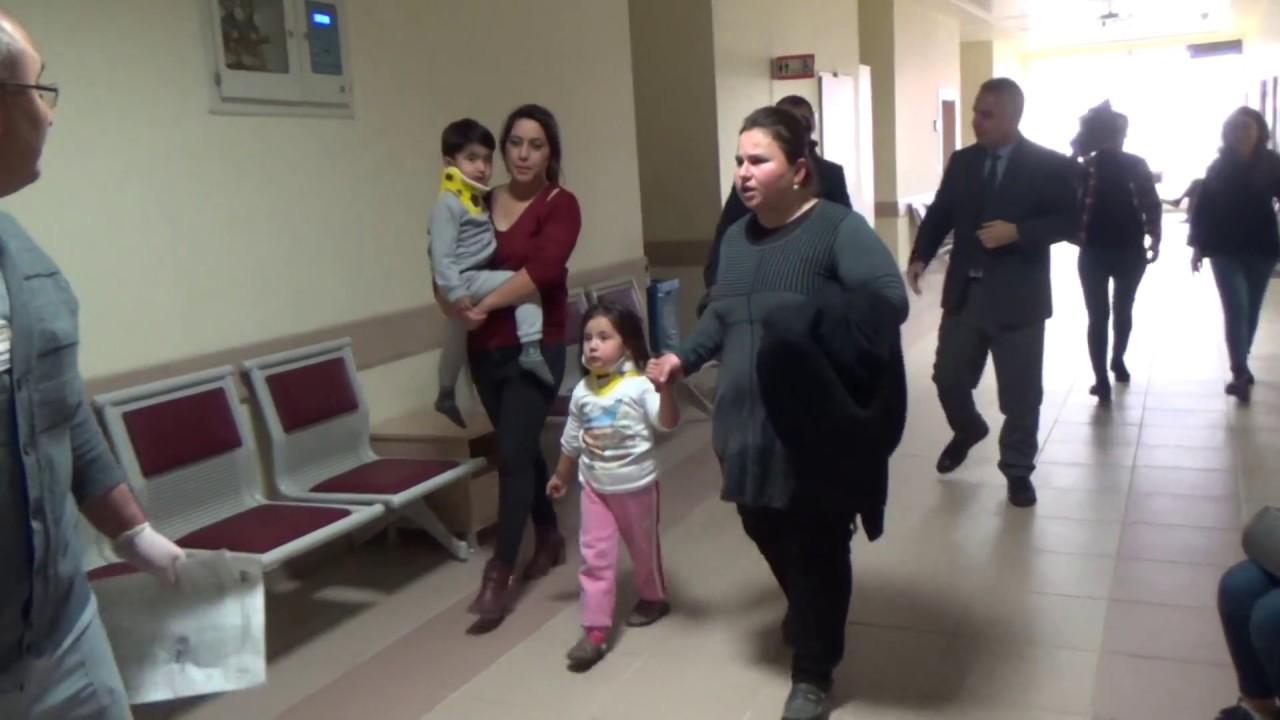 Çeşmeli Anaokulu'nun Tavan Sıvası Çöktü, 4 minik yaralandı