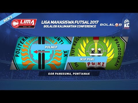 POLNEP VS IKIP PGRI Pontianak di LIMA Futsal Bolalob Kalimantan Conference 2017