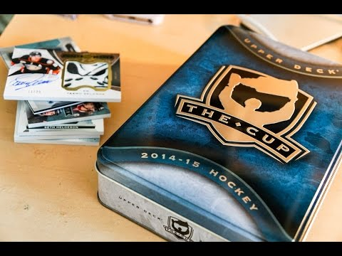 14/15 Upper Deck The Cup Box Break + REVIEW