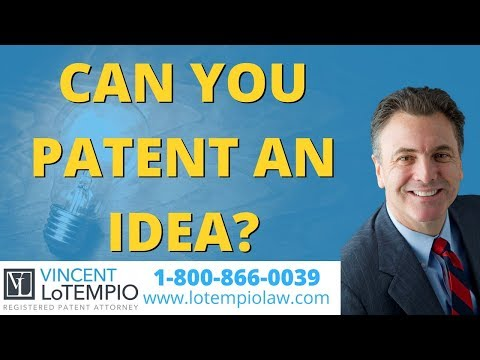 Can You Patent an Idea? - Inventor FAQ - Ask an Attorney - Legal Questions